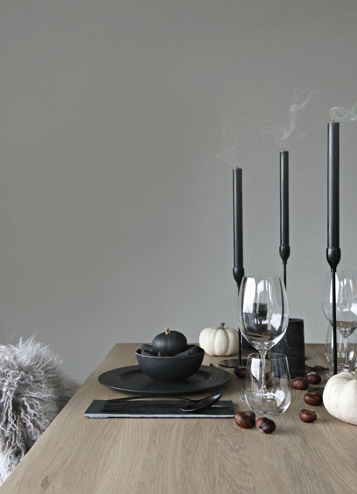 Halloween / Autumn table setting