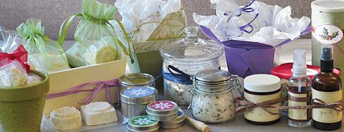 Gifts to make: bath bombs, bath salts, salves (just for Lynn), room sprays, oatmeal soap, OH MY!