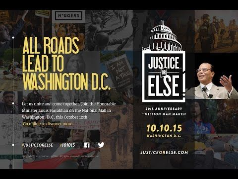 Justice Or Else, Million Man March 2015 Anniversary Promo Video | Moorbey'z Blog