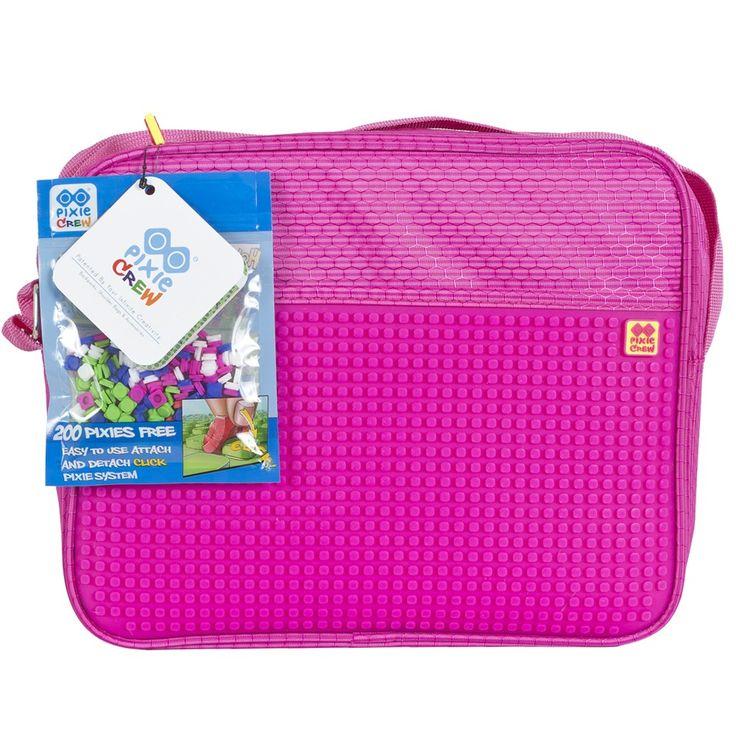 PIXIE CREW Messenger/ Shoulder Bag FUCHSIA
