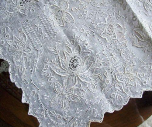 шикарная старинная сильно вышитая Мадейра белый свадебное носовой платок носовой платок in Одежда, обувь и аксессуары, Винтаж, Винтажные аксессуары, Носовые платки, Свадебный | eBay