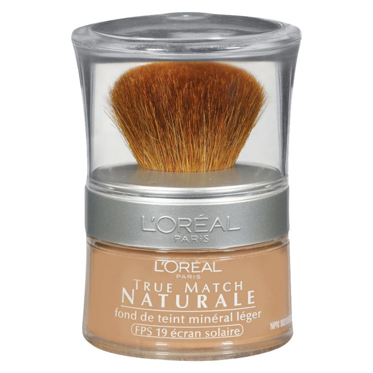 The Best Drugstore Powder Foundations Under $20 - L'Oreal Paris Naturale Mineral Foundation from InStyle.com