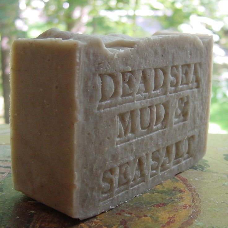Tried it .. a natural soap Dead Sea Mud best seller in California. Natural Dead Sea Mud Soap With Dead Sea Salt (Unscented) Soap find here     http://www.naturalhandcraftedsoapcompany.com/Artisan-Dead-Sea-Mud-Soap-With-Dead-Sea-Salt-p/mud-salt-soap.htm