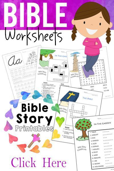 It's just an image of Intrepid Free Printable Bible Lessons for Toddlers