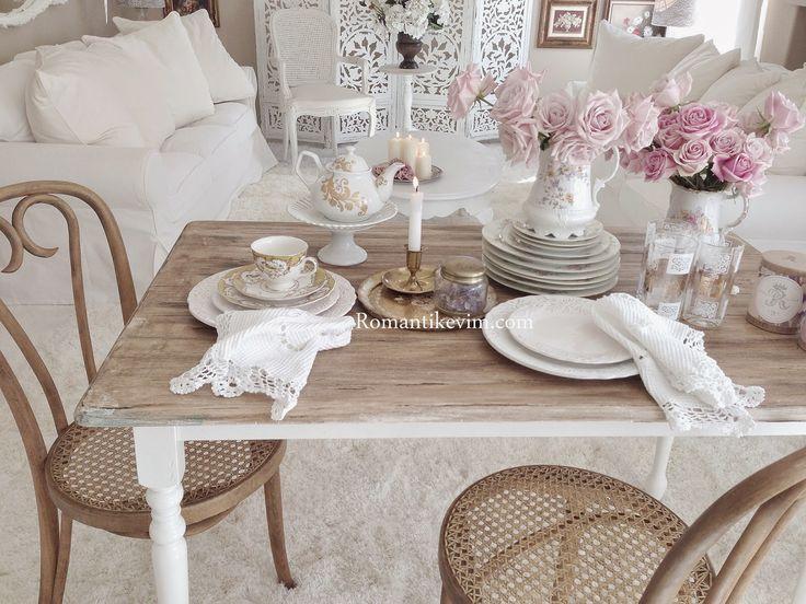 Romantik (Country) kır evi stili
