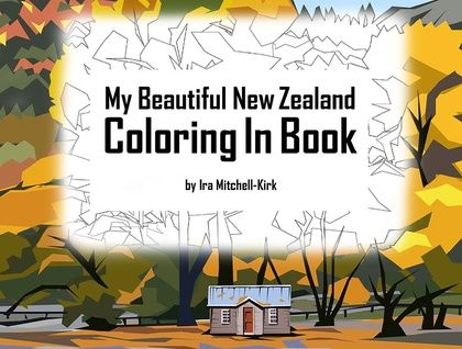 My Beautiful New Zealand Coloring In Boo
