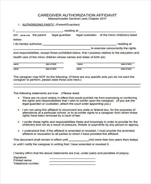 affidavit template south africa