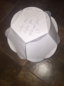 Blank Dodecahedron Template - Perfect for book projects and other in-depth projects! Step-by-step instructions as well as a link to purchase a large and small template for only $1!