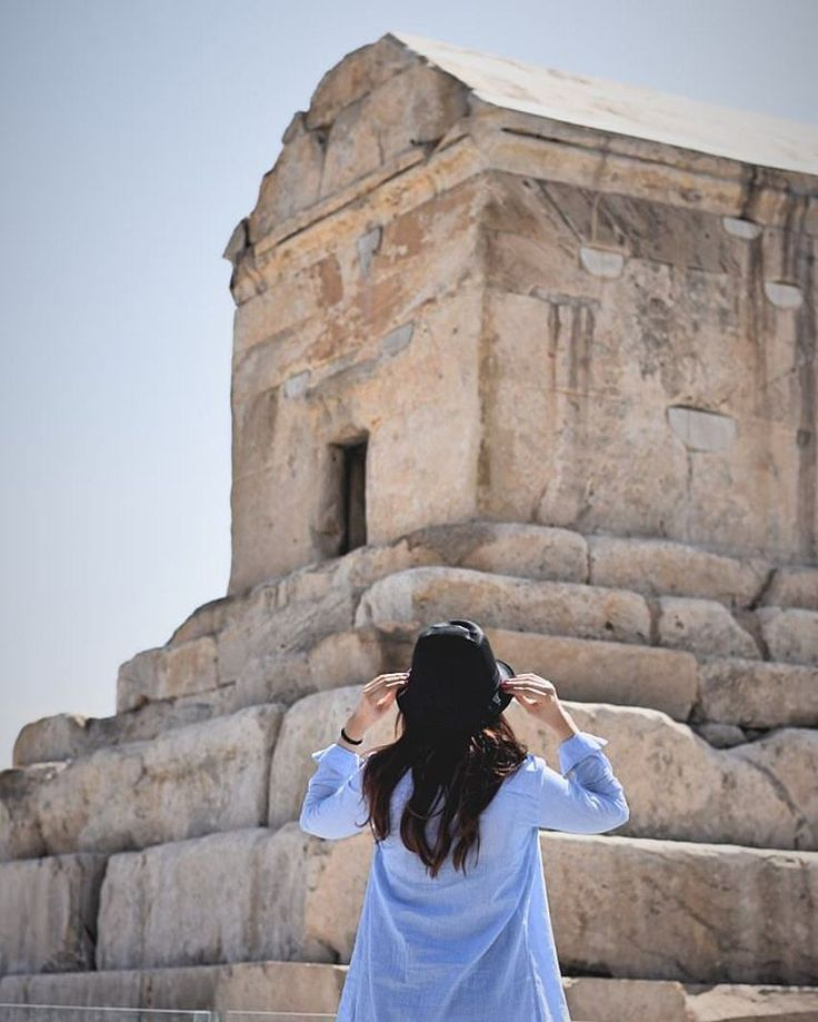 "Cyrus: ""  O man, whoever thou art, from wheresoever thou cometh, for I know you shall come, I am Cyrus, who founded the Persian Empire. Grudge me not, therefore, this little earth that covers my body."" 