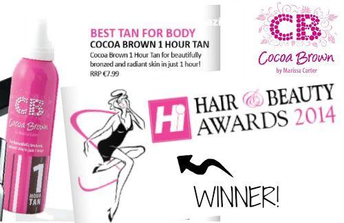 Hi Magazine Beauty Awards 2014 - BEST TAN FOR BODY!