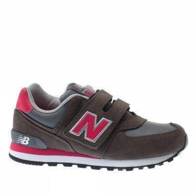 New Balance Trainers Shoes Kids 574 Kids Mouse Grey New Balance. $73.55