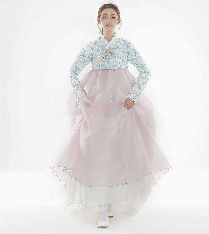 겨울에 연실이와 준비했던 여름한복.. #신부한복 #한복촬영