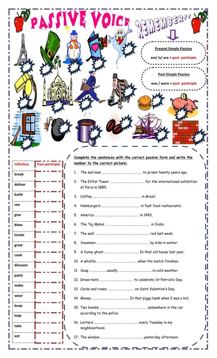 Present Perfect Exercises Упражнения с ответами
