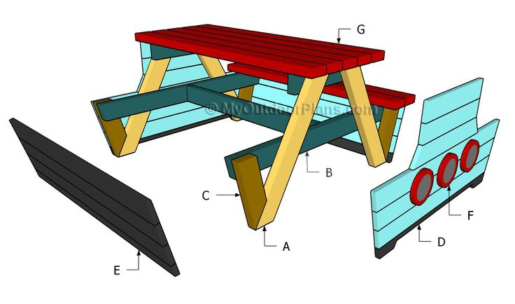 little tikes picnic table instructions
