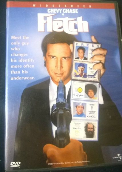 Chevy Chase as FLETCH DVD LOOK WHAT I'M GIVING AWAY ON ...