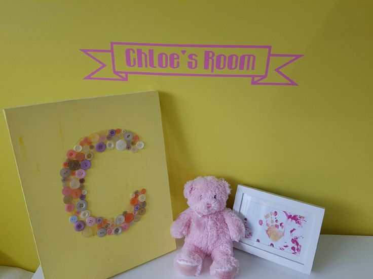 Custom Kid's Room Vinyl Wall Art Sticker / Decal! - Sticks right onto the wall! by StickerBot on Etsy