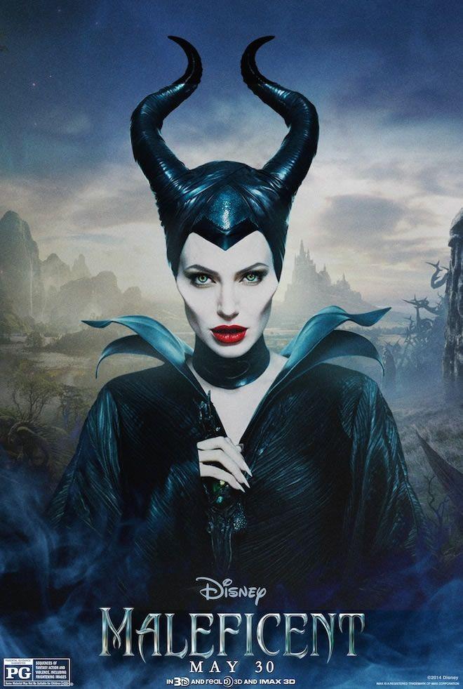 Novo cartaz de Angelina Jolie como Malévola.