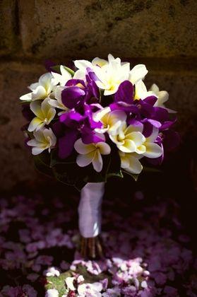love the plumeria/ SANDRA & VERONICA WEDDING PLANNERS