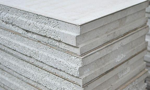 Expanded Polystyrene Concrete Paneling Cement Render Steel Architecture Precast Concrete