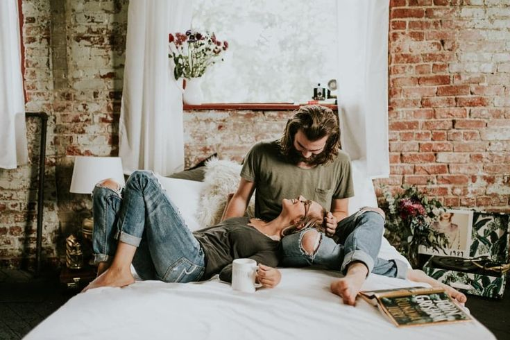These Comfy Couple Photos Make Us Want to Kick Back and Relax