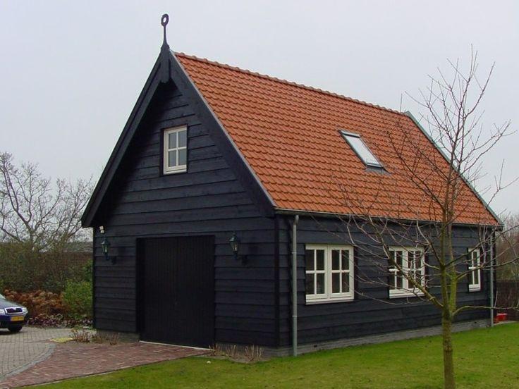 Deze luxe schuur is volledig op maat ontworpen en gebouwd schuur pinterest garage - Verlenging hout oud huis ...