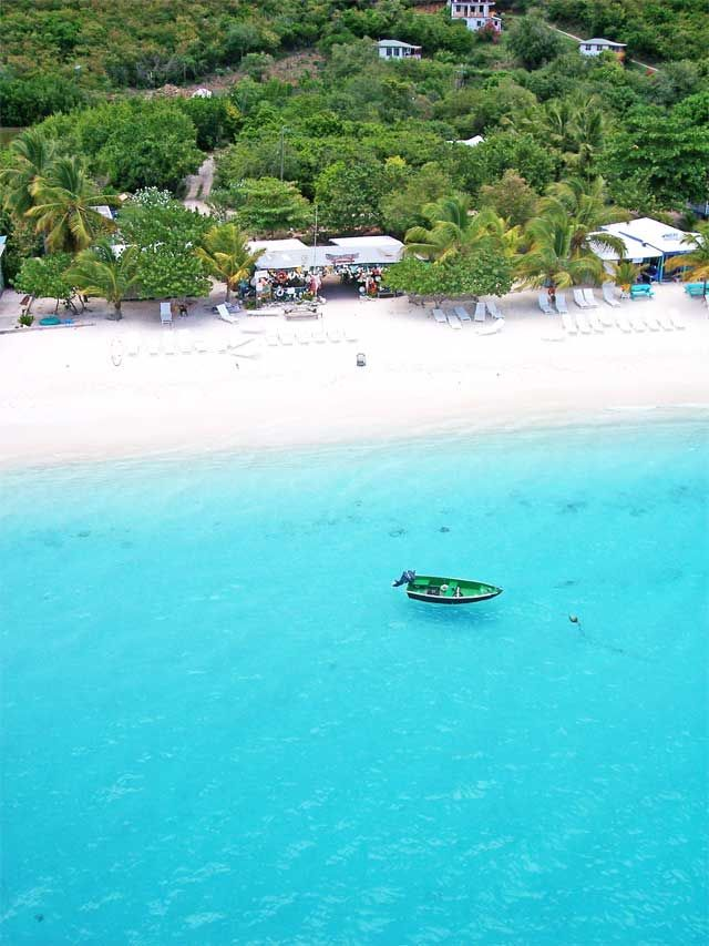 One Love beach bar - Jost Van Dyke, British Virgin Islands