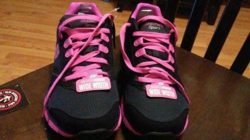 Brand New Skechers Work Sport Ladies Running Shoes Size 9 1/2