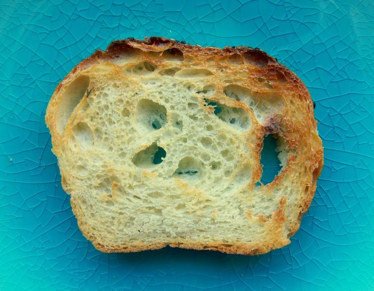 The perfect slice of white toast