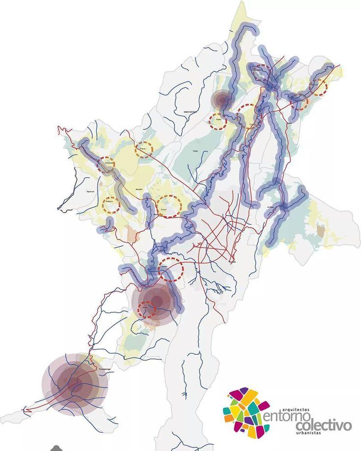 Propuesta Regional Bogotá = #urbanismo #urbandesign #regionalconvention #conexiones #redes #bogotá