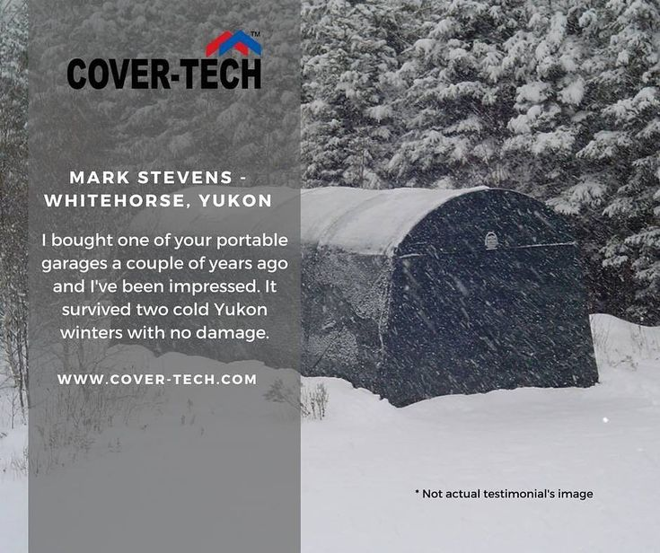 Mark Stevens from Whitehorse, Yukon said.... We thank you for your kind words! Read more testimonials here: http://www.cover-tech.com/testimonials #picoftheday #portablegarage #shelter #product #highquality #testimonial #madeincanada #rvgarage #boatgarage #cargarage #testimonials #tbt #stopsnowing #winter #yukon #whitehorse #whitehorseyukon #thursday #storage #carstorage #winterstorage #february #instacar #instalikes #followforfollow #shelters