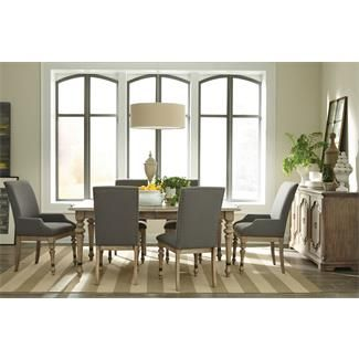 Corinne Rectangular Dining Table I Riverside Furniture