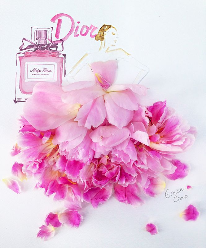 Grace Ciao Gives Dior the Floral Treatment for Glam Gardens