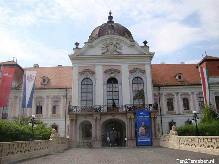 Gödöllő in Hongarije met het Paleis van Sissi.