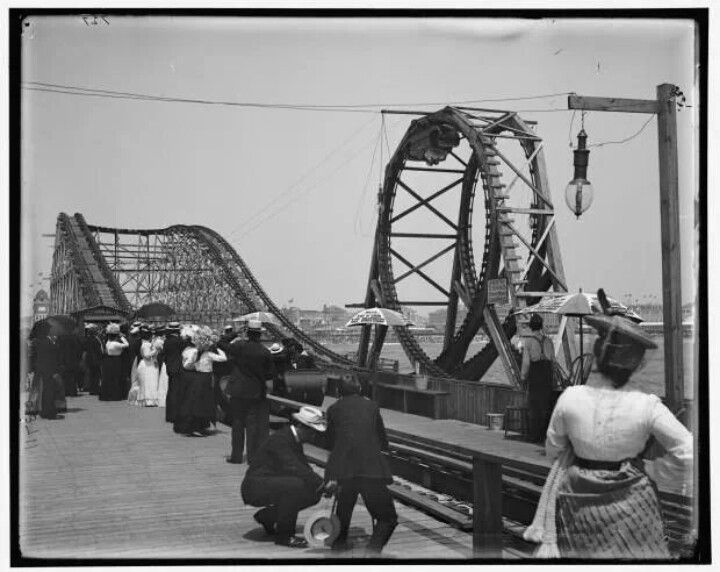 Coney island 1901 vintage images pinterest