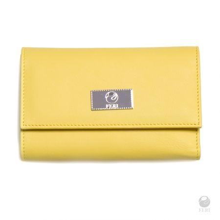 FERI Primavera Collection - Solar Wallet - Yellow