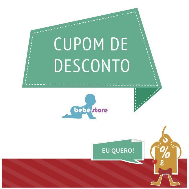 Bebê Store - Aproveite os cupons de desconto grátis  #Brasil #Promoção #Desconto #Cupom #CupomDeDesconto #Oferta #DescontoHoje