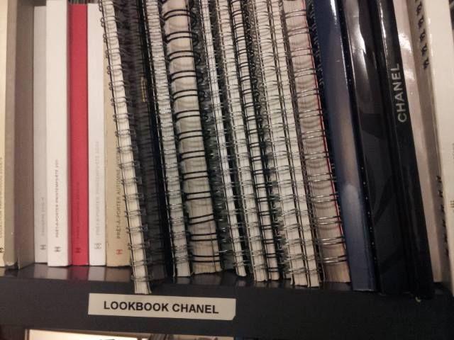 Lookbook @CHANEL - #bibliotecadellamoda di #Milano