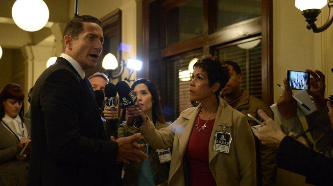Grimm: Nick Disguised as Renard