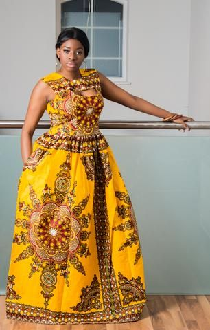 Coco African Maxi Dress-HouseOfSarah14