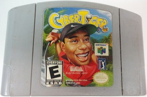 Today in gaming history  March 8, 2000 was welcoming Cyber Tiger to the Nintendo N64 gaming family  A step back from the Tiger Woods PGA simulation style, before golf had international affairs, Cyber Tiger has more of an arcade feel to it, with cartoony-style animations, fast gameplay and elements added to make the game of golf more lively than the real-life counterpart.  Game On Video Game Depot…