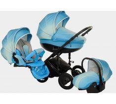 Детская коляска Tutis Zippy Pia. Литва -http://babybaby.kz/products/kolyaski-progulochny-e/kolyaski_3_v_1/kolyaska-3v1-adamex-enduro/ Очень яркая и красивая коляска для новорожденных от польского бренда.