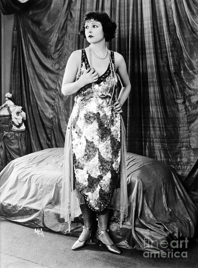 Silent film star Norma Talmadge. Baines News Service
