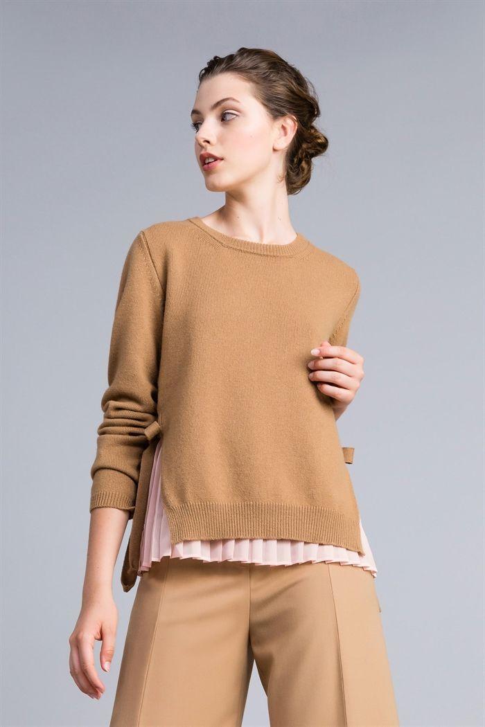 fdfdd78977 TWINSET :: Maglie e cardigan - Twinset :: Maglia in lana e cashmere ...