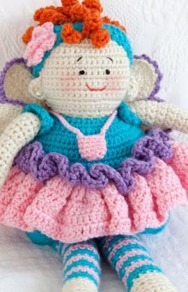 My kids had pillows .Grandkids can have dolls: Tooth Fairy, Crochet Dolls, Fairies Dolls, Red Heart, Free Patterns, Crochet Patterns, Dolls Patterns, Tooth Fairies, Amigurumi Patterns