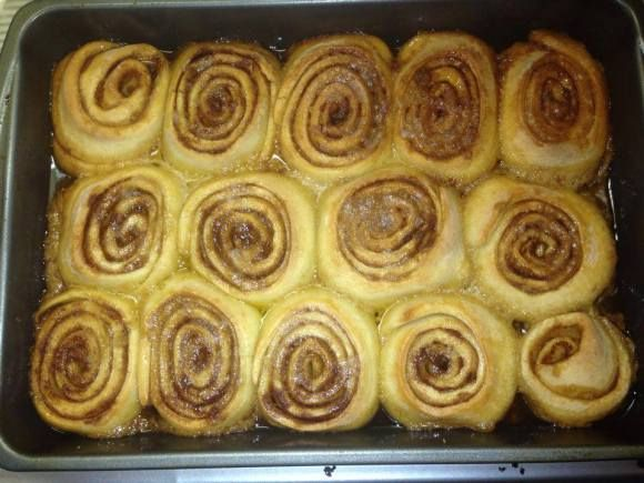 Amish Friendship Bread Cinnamon Rolls | Kimberly Kozicki ♥ http://www.friendshipbreadkitchen.com