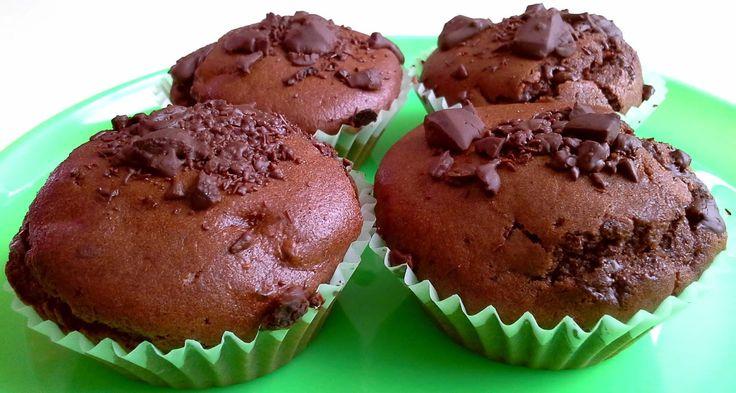 CREAMY CRAB: Muffin al Doppio Cioccolato