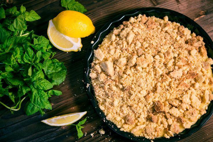 Видео: легендарный пирог для Льва Толстого - начинка лимонный курд