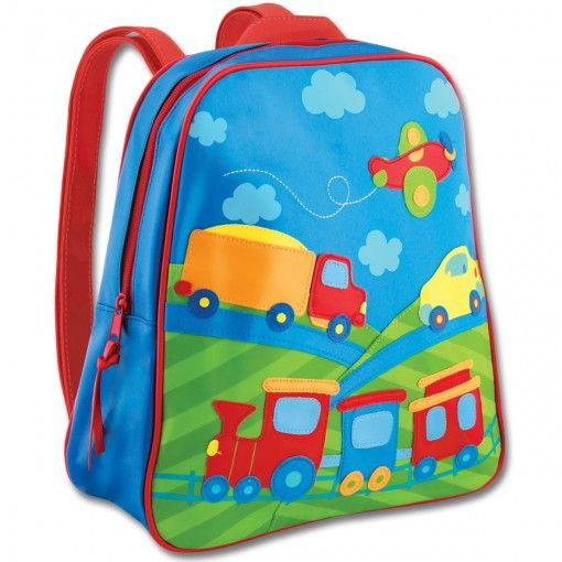 Transport Go Go Backpack Possum Pie Stephen Joseph Arts and Crafts, Gifts and Toys, Bags and Backpacks