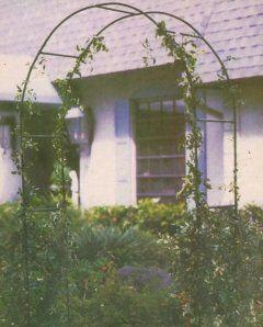 Záhradný oblúk pre popínavé rastliny