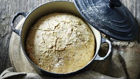 BBC Food - Recipes - Nigel's lazy loaf you can use 300ml of natural live yoghurt and a bit of milk instead of buttermilk
